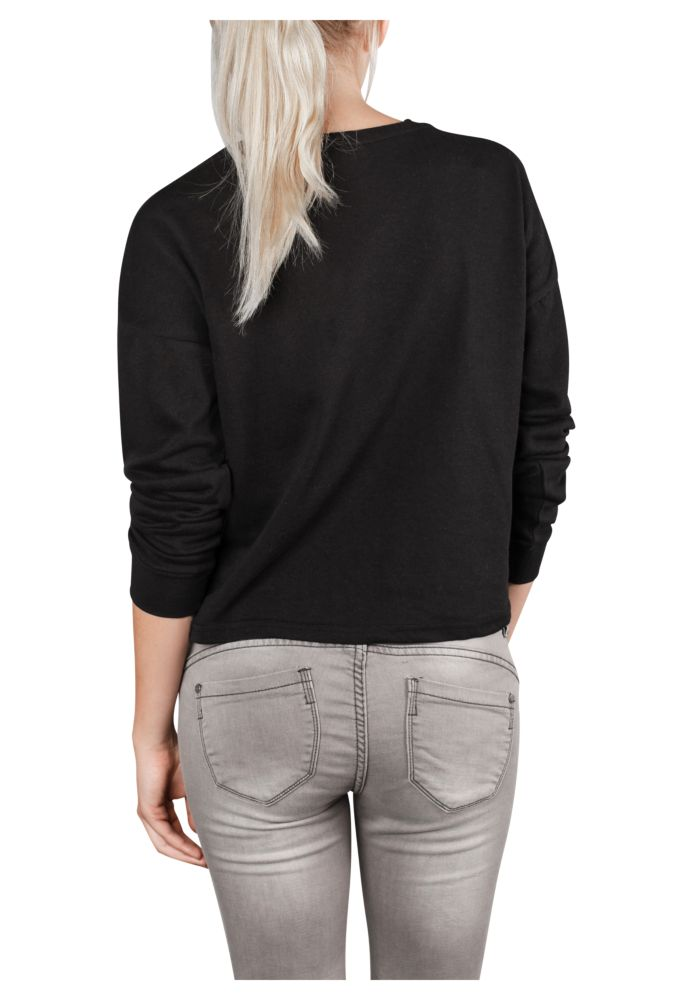 Vorschau: Cropped Sweatshirt mit Zipper