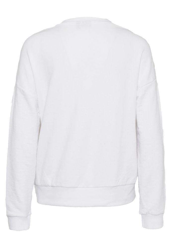 Vorschau: Sweatshirt mit Flockprint