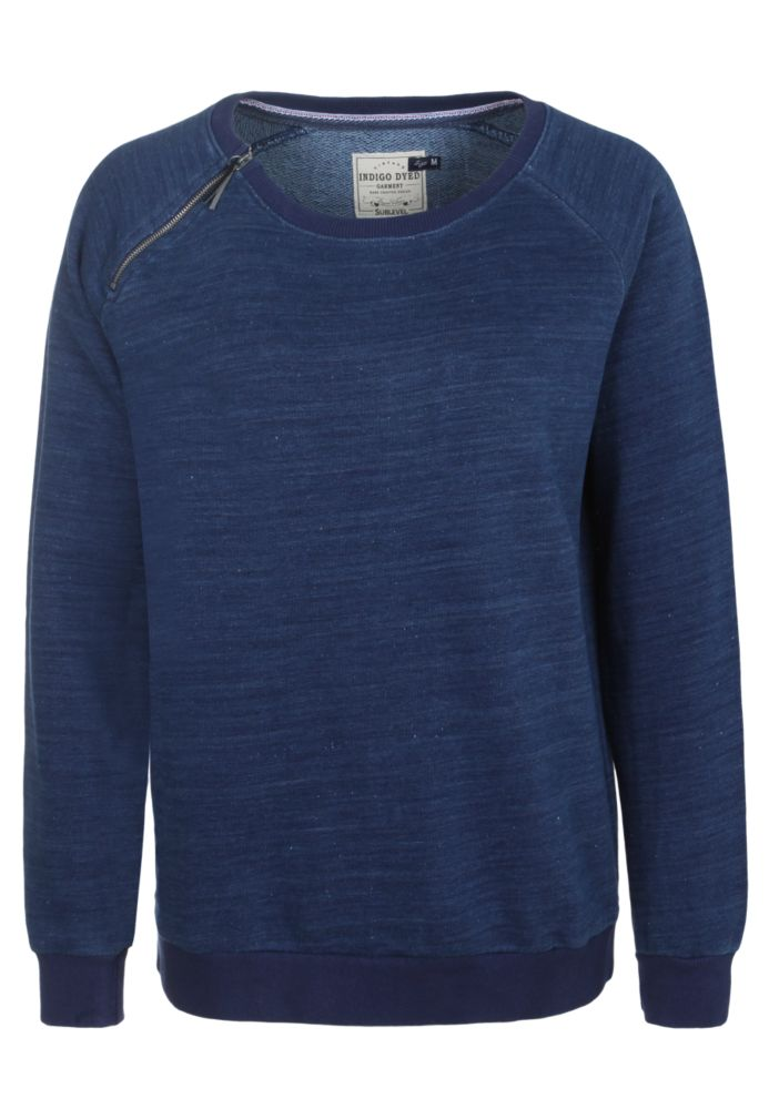 Blaues Damen Sweatshirt