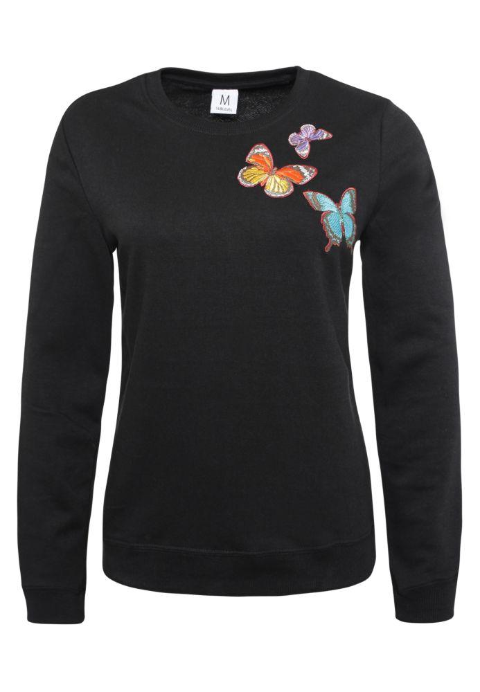 Sweatshirt mit Schmetterlingen