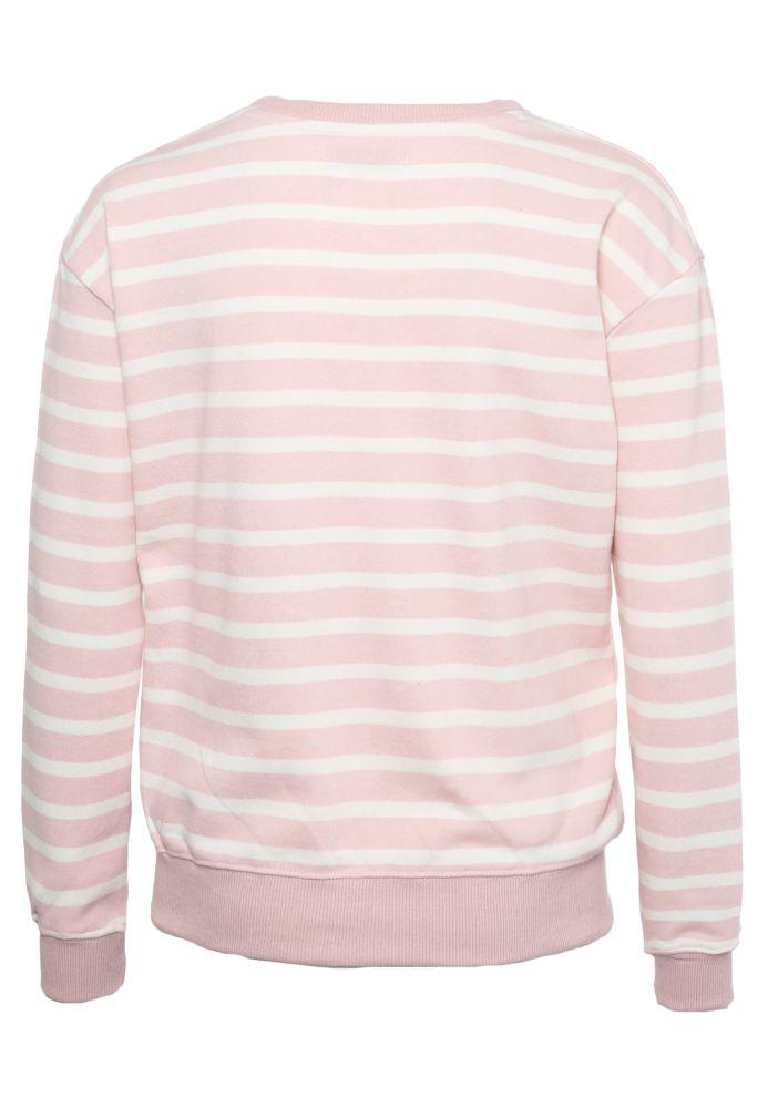 Vorschau: Streifen Sweatshirt mit Badges