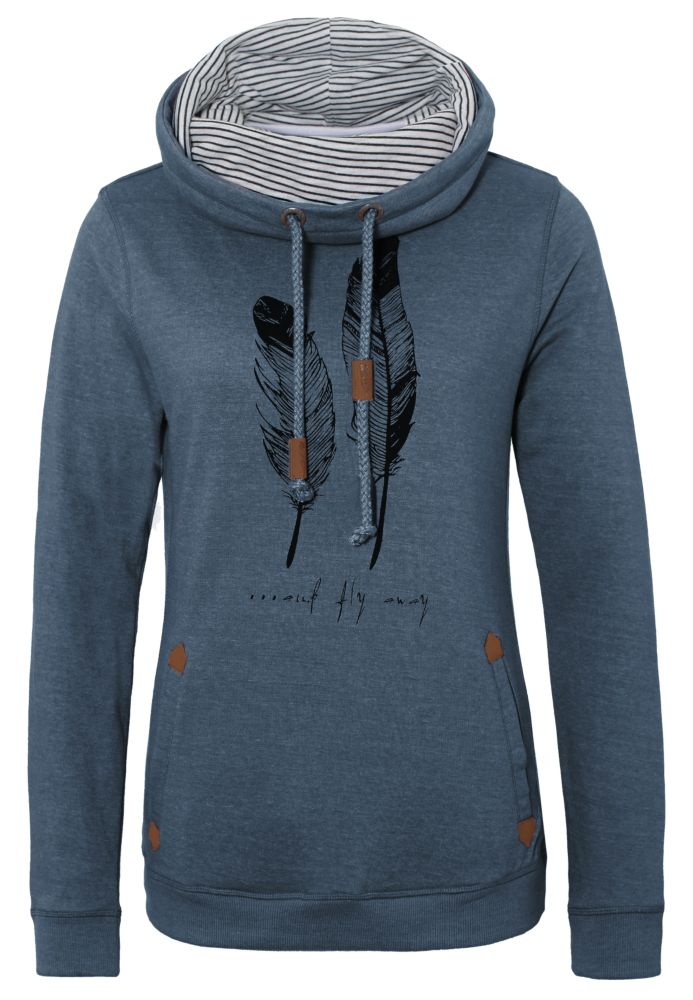 Sweatshirt mit Federprint