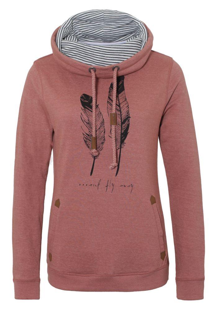 Vorschau: Sweatshirt mit Federprint