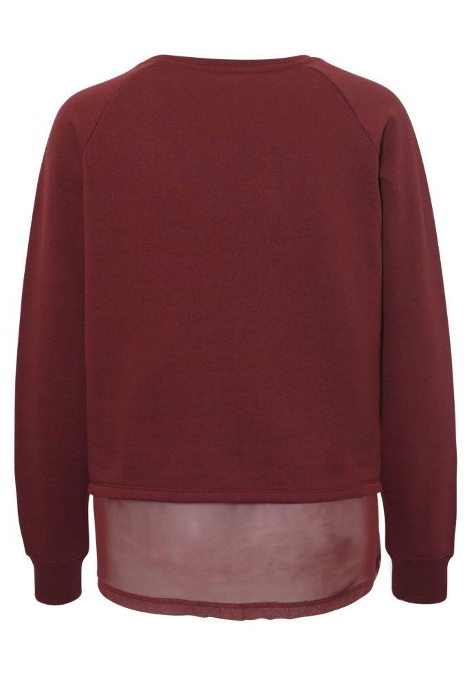 Vorschau: 2-in-1 Sweater mit Blusensaum