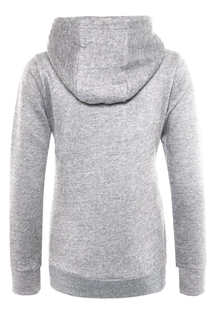 Damen Sweat Hoodie in Blau & Grau