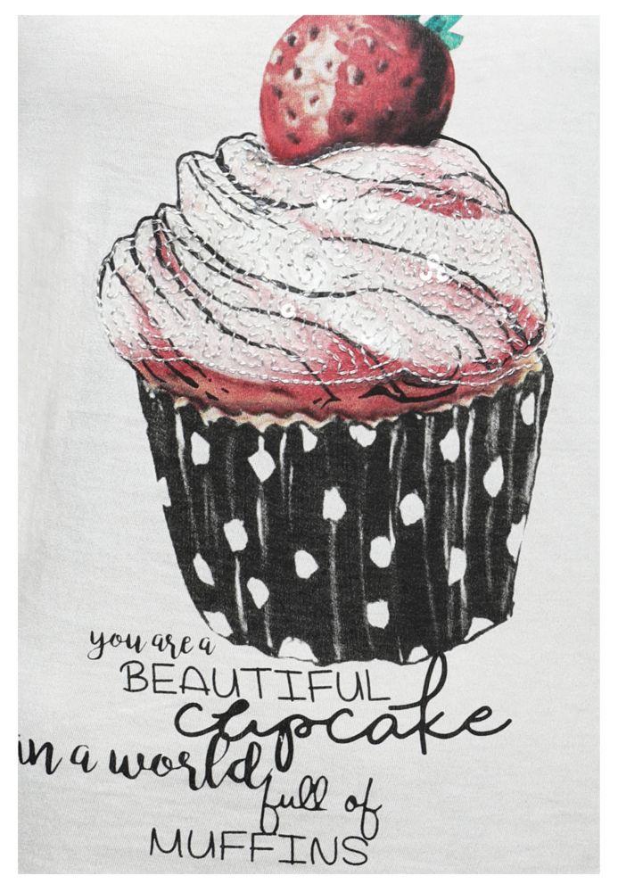 Vorschau: Pailletten Top - Cupcake