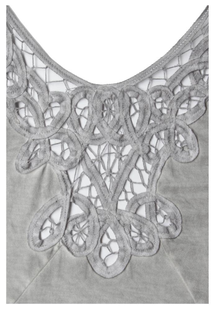 Vorschau: Damen T-Shirt mit Spitze