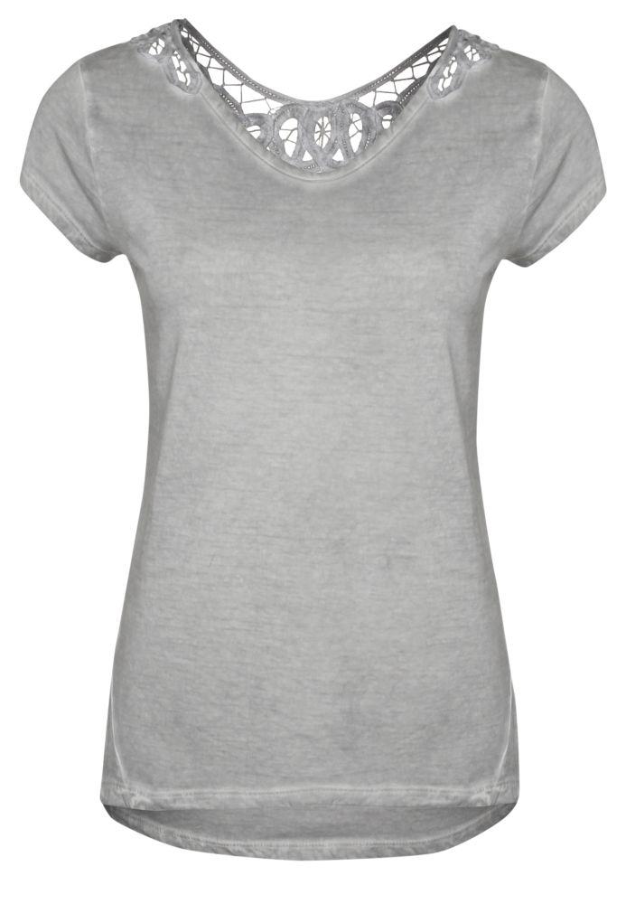 Damen T-Shirt mit Spitze