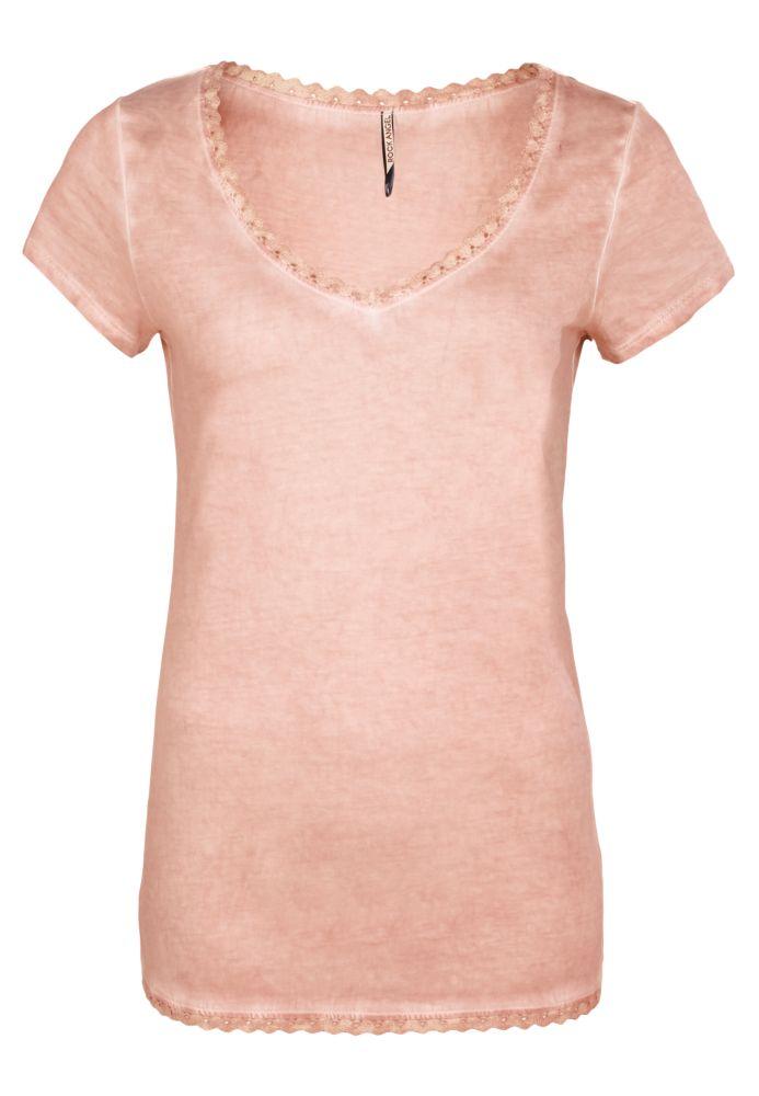 T-Shirt mit Spitze LENI