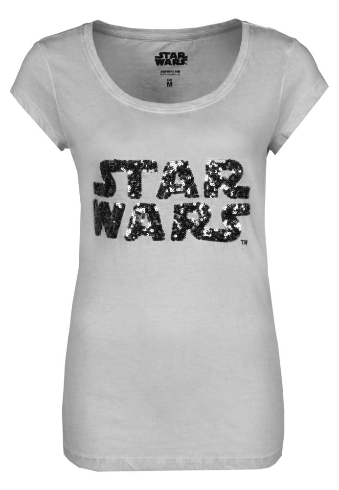 Pailletten T-Shirt STAR WARS