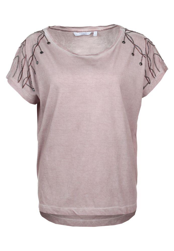 Vorschau: Shirt mit Perlen-Applikation