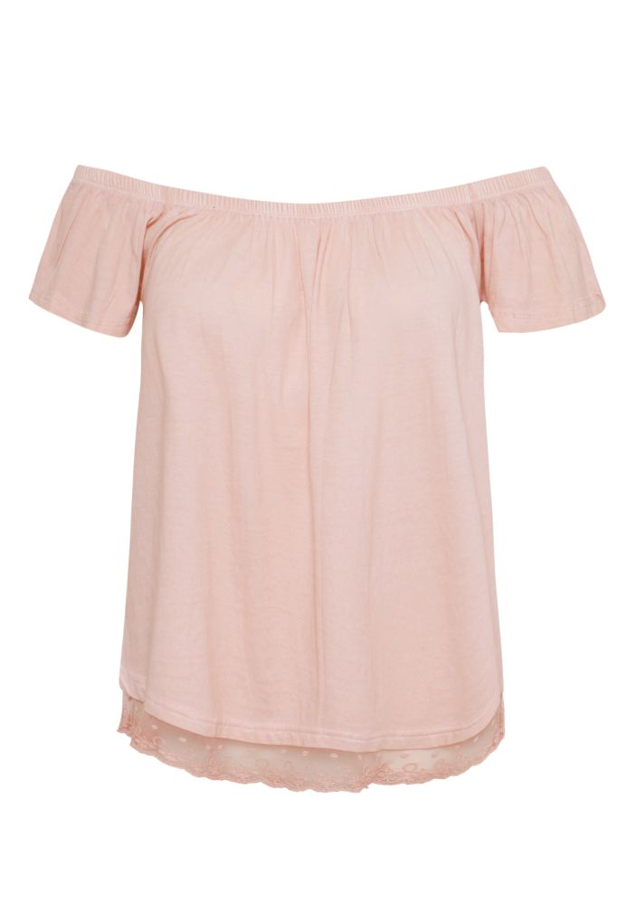Schulterfreies Shirt LINDA
