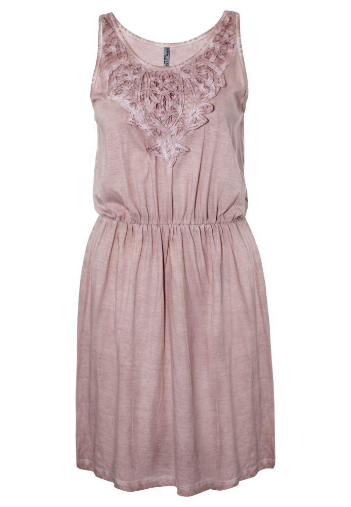 Vintage Sommerkleid mit Spitze