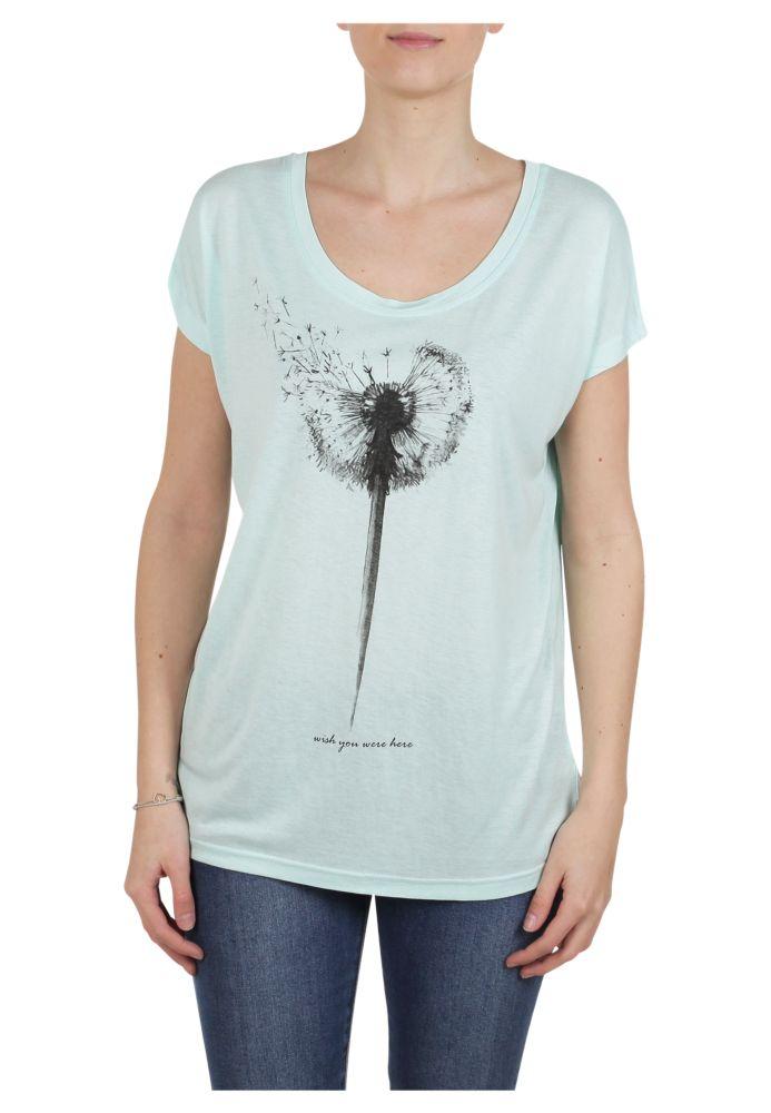 Vorschau: Printshirt Pusteblume