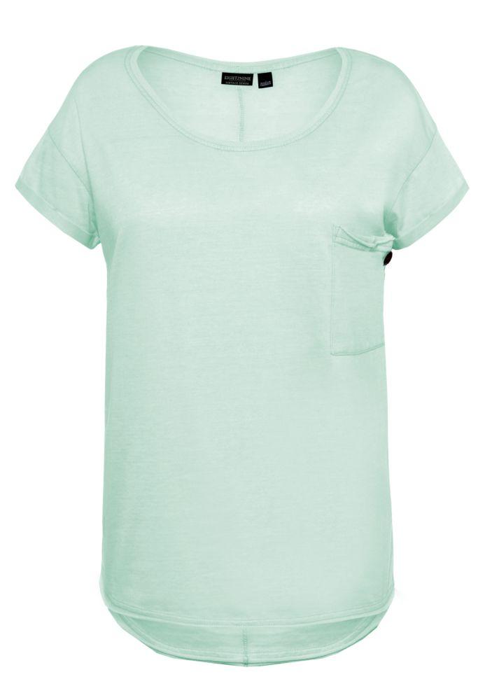 Basic T-Shirt mit Brusttasche