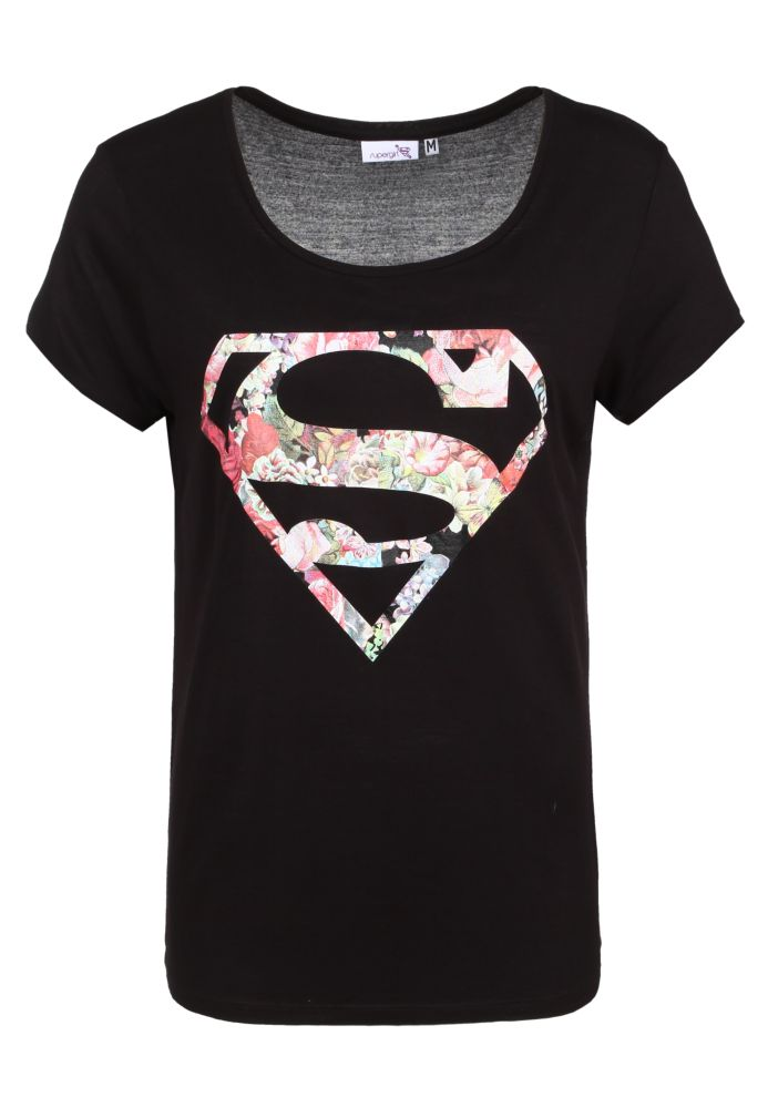 Superman Shirt - Blumen