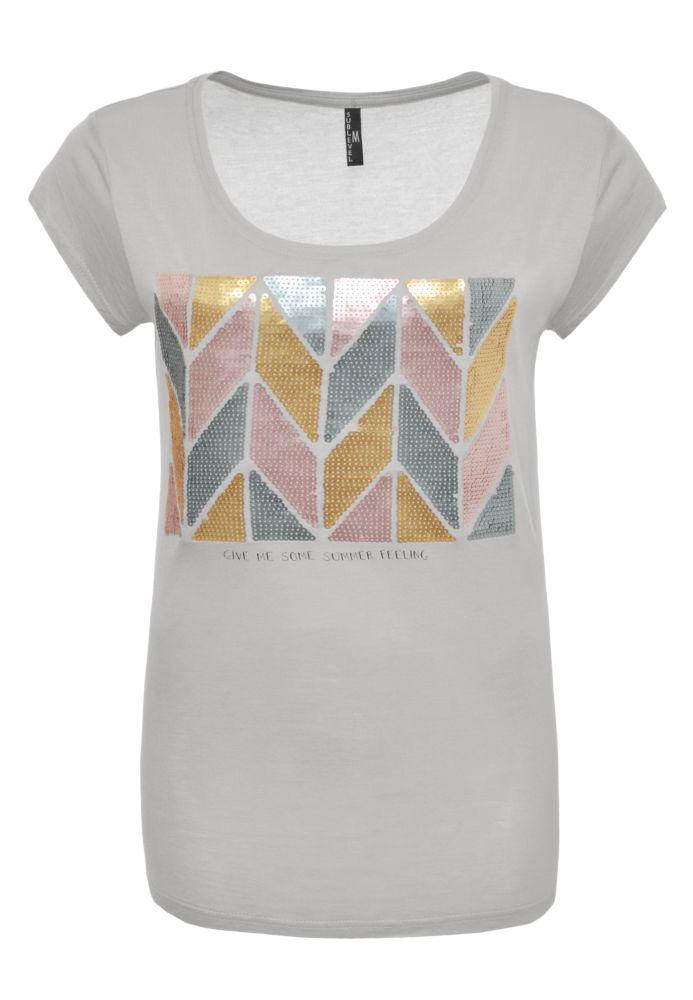 Summer T-Shirt - Pailletten