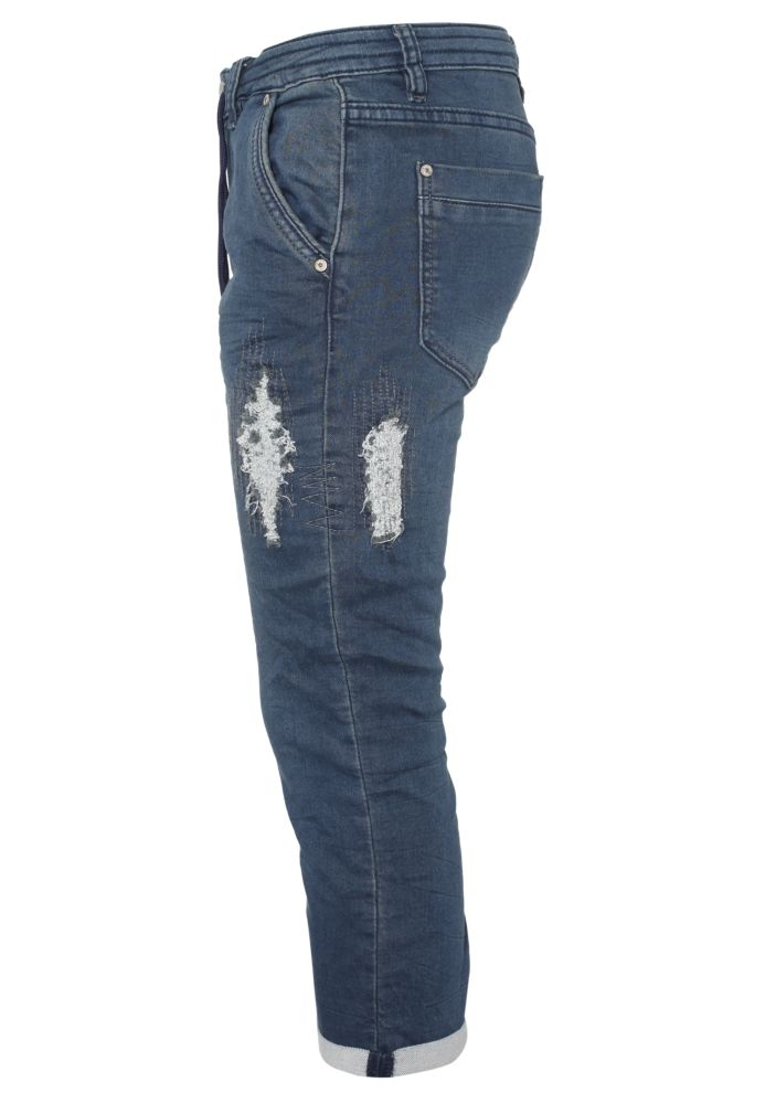 Damen Sweat Jeans Capri