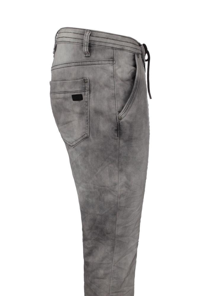 graue damen sweathose in jeansoptik g nstig fashion5. Black Bedroom Furniture Sets. Home Design Ideas