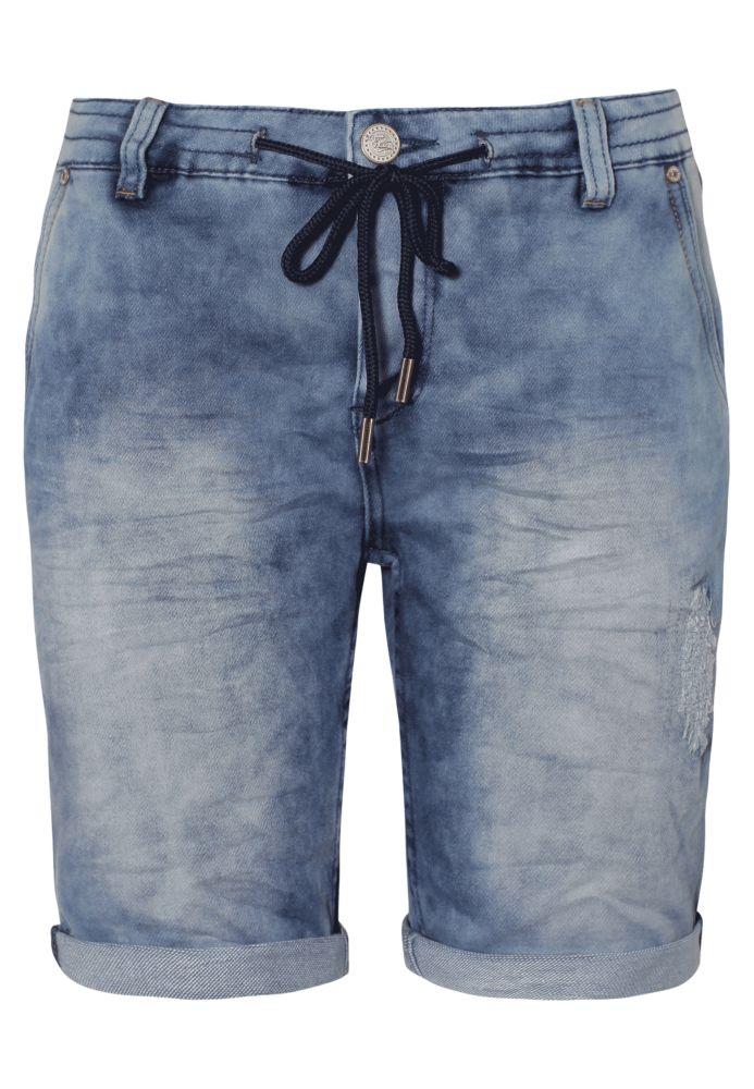 Vorschau: Sweat Bermuda - Jeans Optik