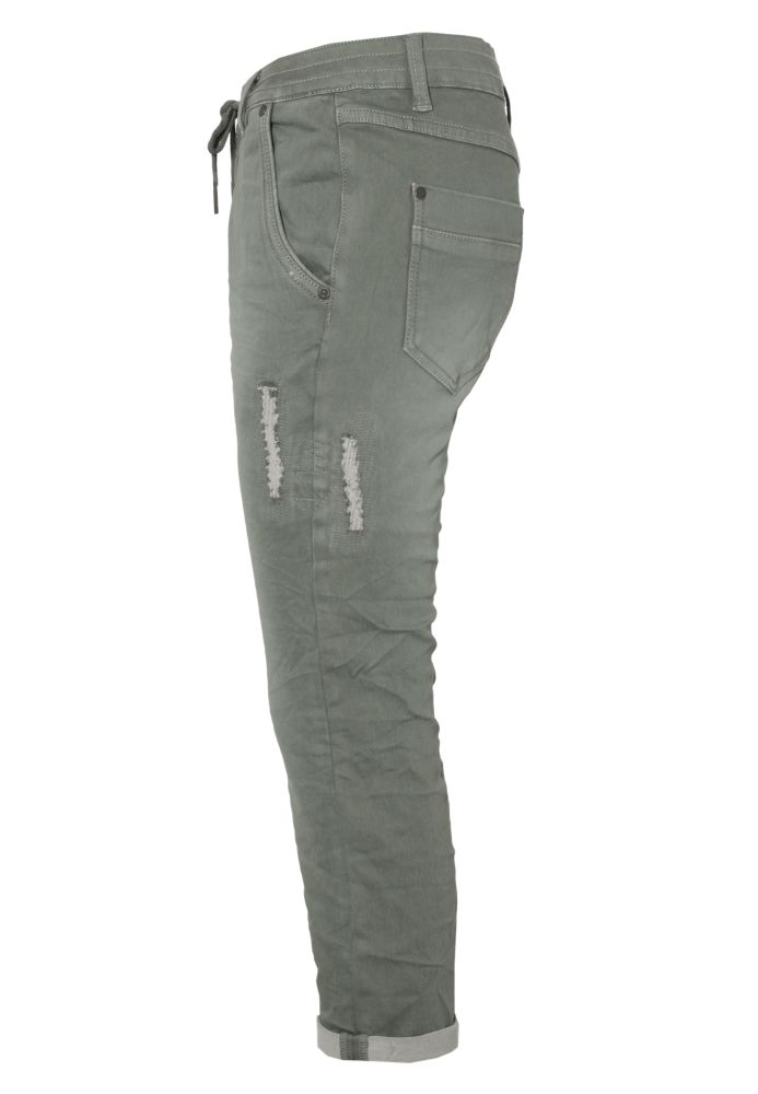 Vorschau: Damen Sweat Capri Jeans