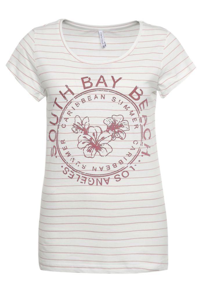 T-Shirt - Beach Flockprint