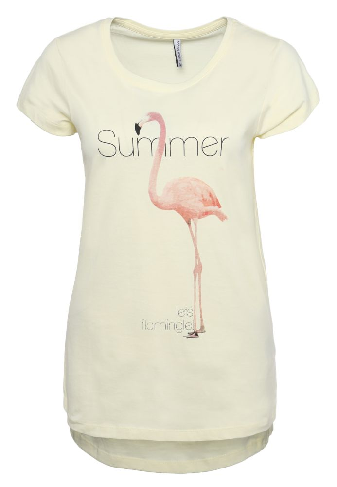 T-Shirt - Flamingo Print