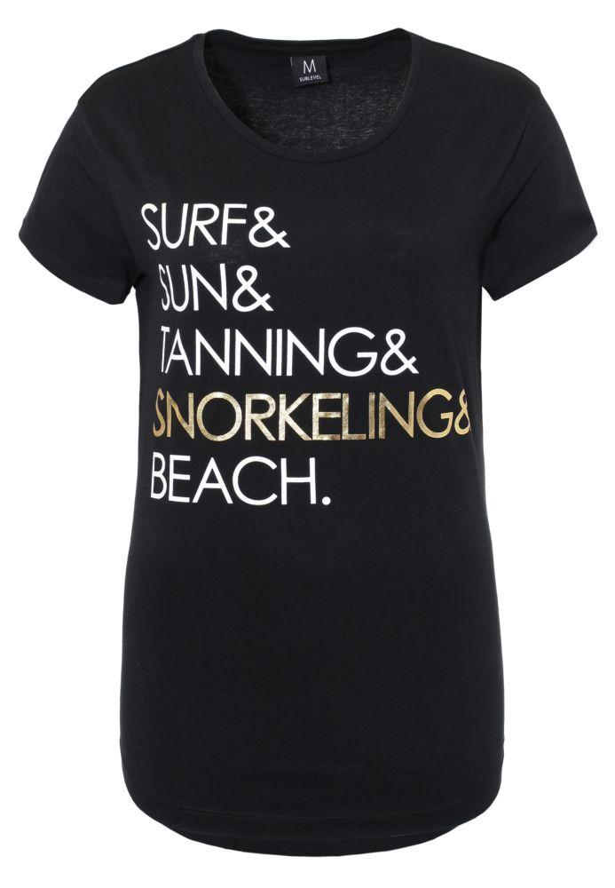 Damen Slogan T-Shirt
