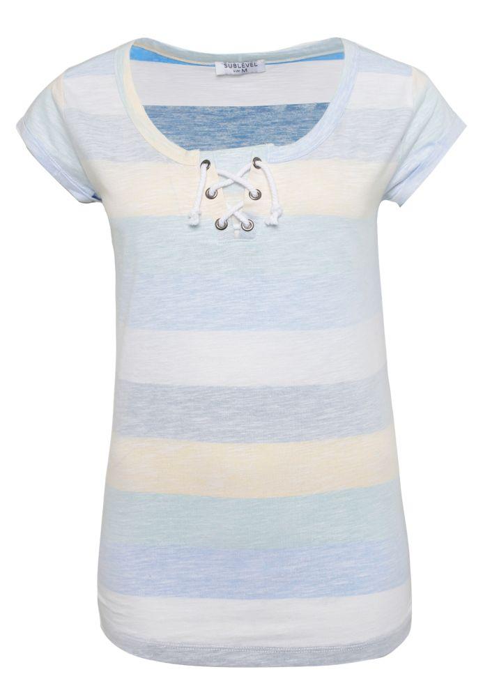 T-Shirt - Streifen & Kordeln