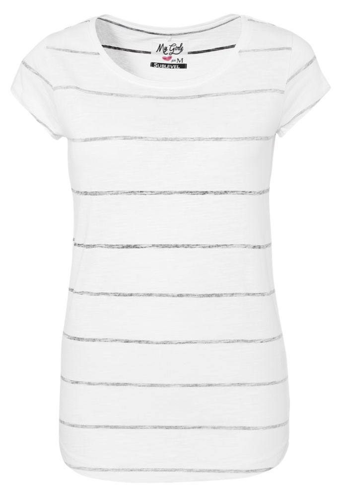 T-Shirt - Streifenprint