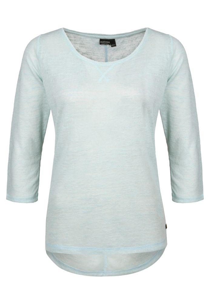 Lockeres Strick-Shirt