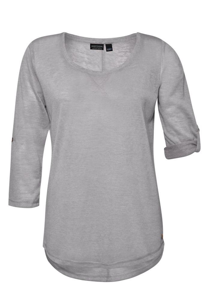 Feinstrick-Shirt 3/4-Arm