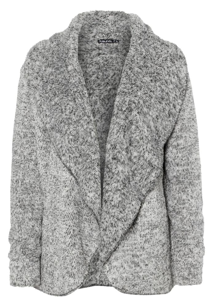 Teddy Fleece Cardigan