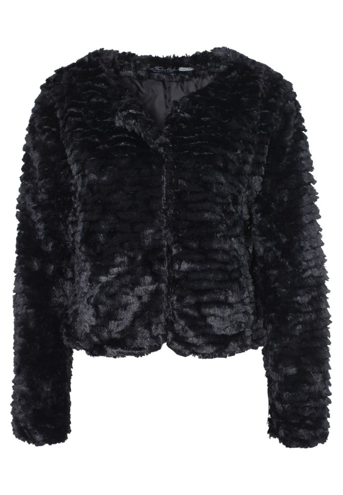 Fake Fur Kurzjacke