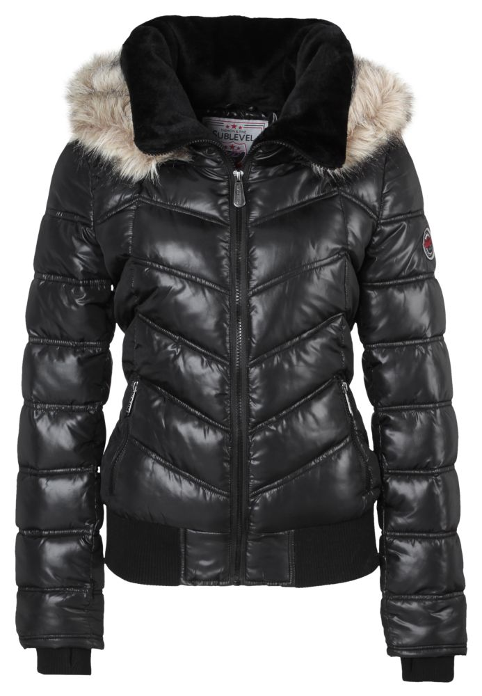 Winter Steppjacke mit Kapuze