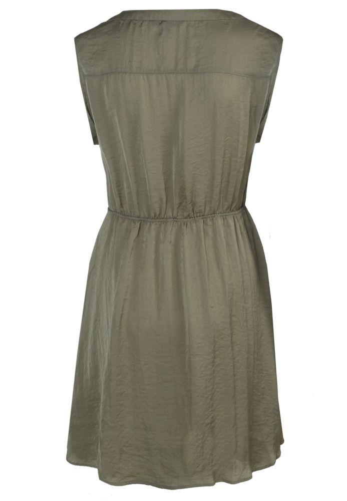 Vorschau: Leichtes Satin Kleid