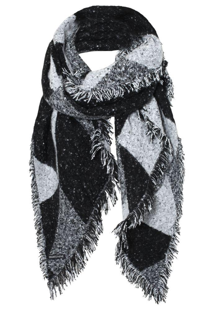 Vorschau: XXL Jacquard Fleece Schal