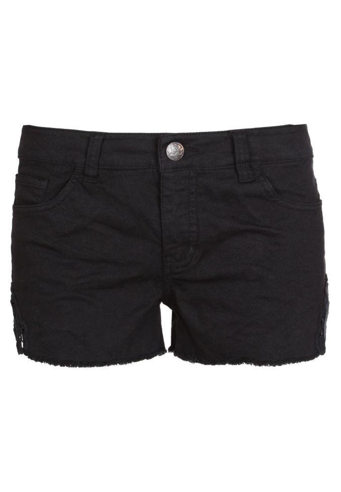 Hot Pants mit Spitze