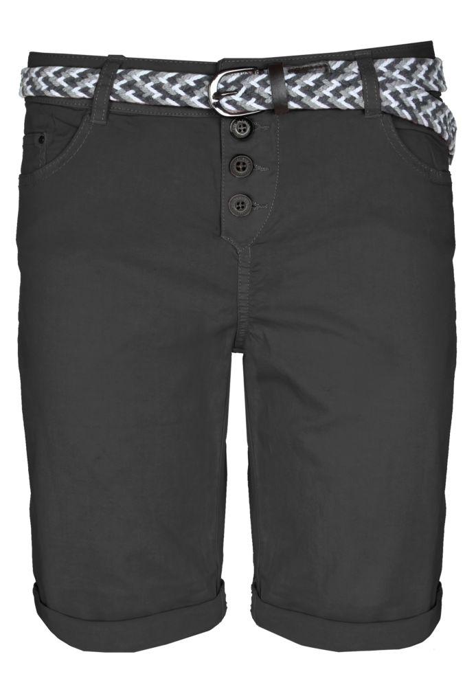 damen bermudas stoff jeans bermuda shorts fashion5 shorts bermudas frauen fashion5. Black Bedroom Furniture Sets. Home Design Ideas