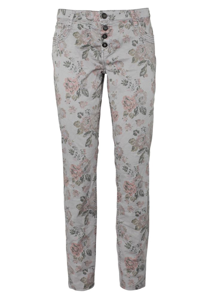 Allover Blumenprint Hose