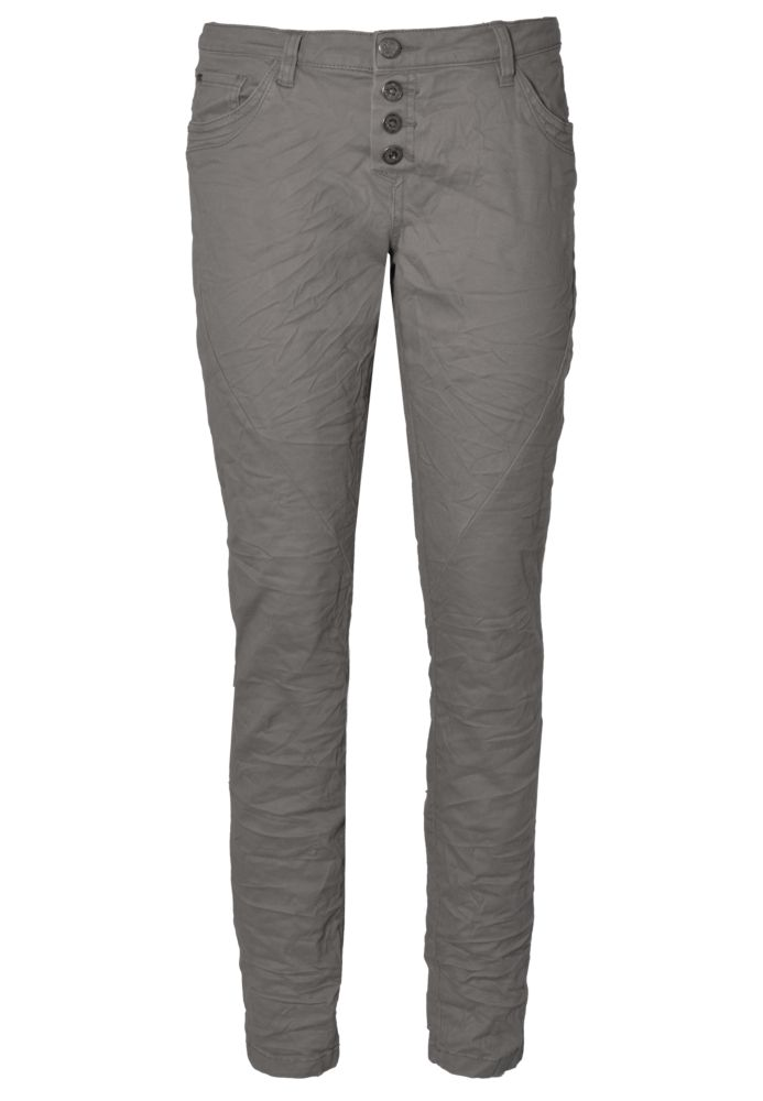 Slim Fit Stoffhose