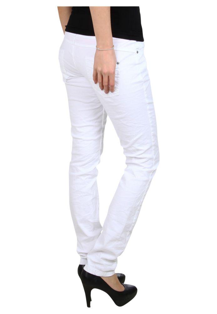 Vorschau: Weiße Slim Fit Hose