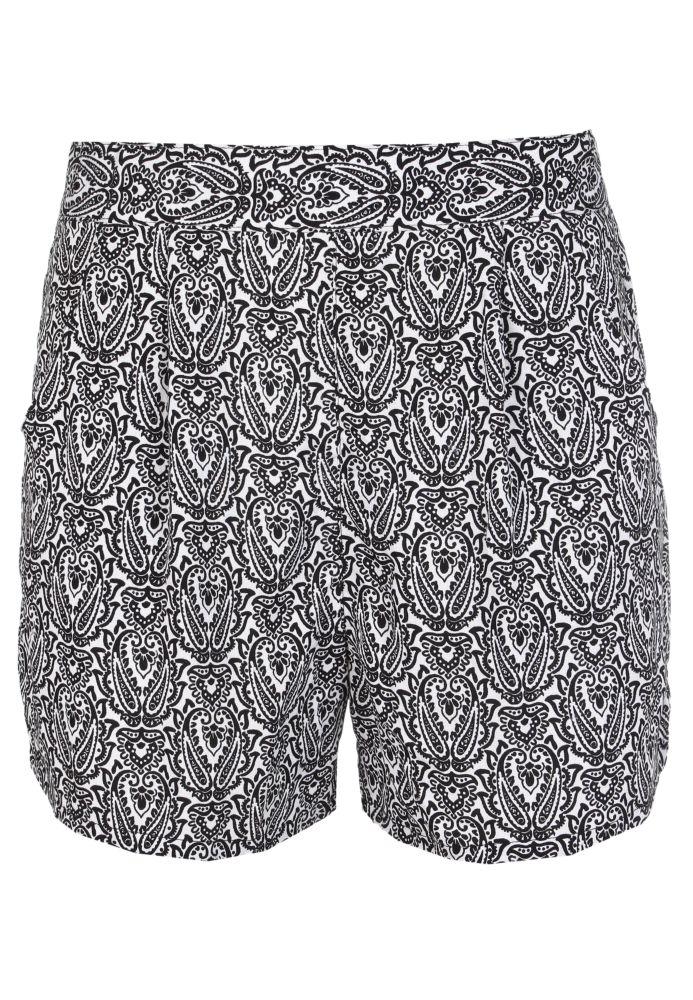 Leichte Shorts - gemustert