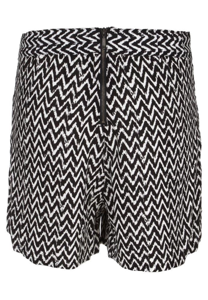 Vorschau: Leichte Shorts - gemustert