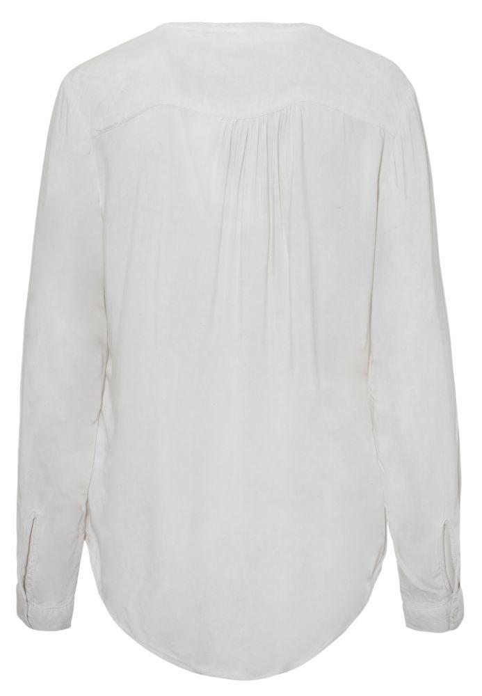 Vorschau: Vintage Bluse mit Stehkragen