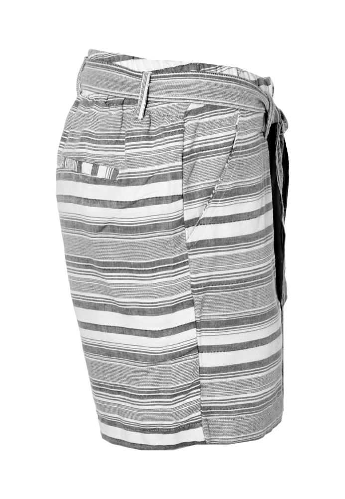 Vorschau: Gestreifte Jacquard Shorts