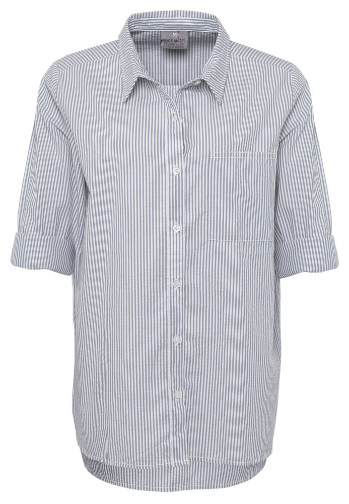 Vorschau: Oversize Hemdbluse LUISEL