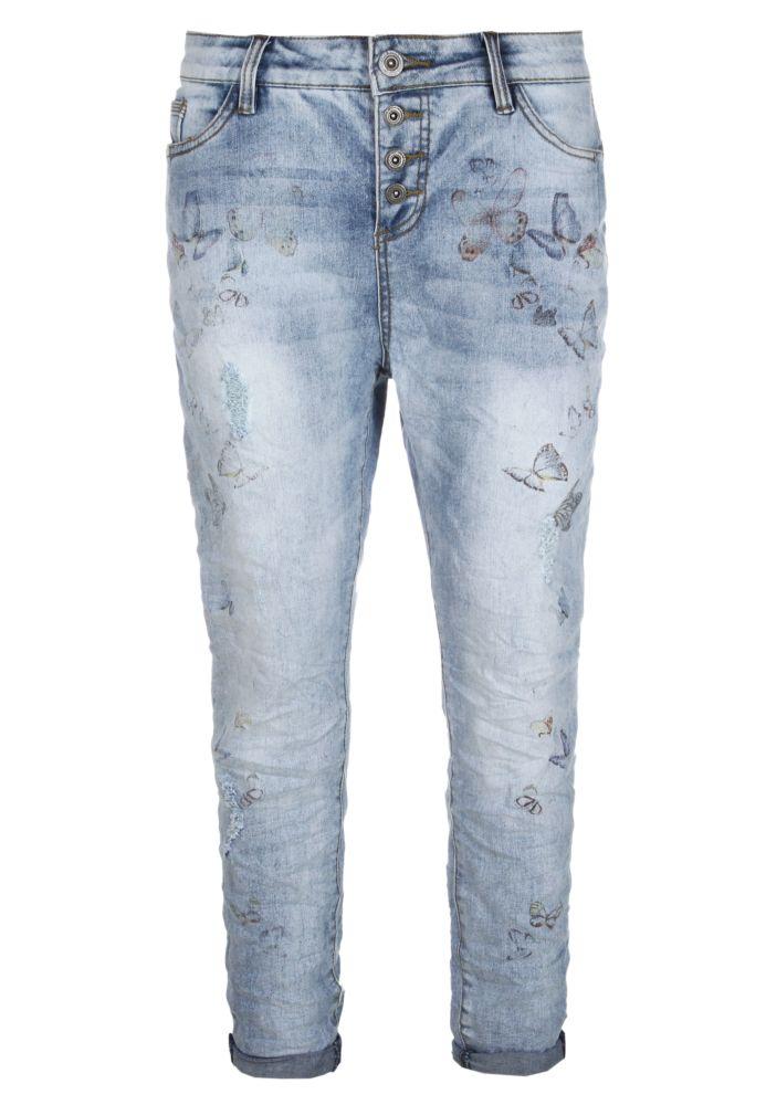 Boyfriend Jeans - Print ROSIE