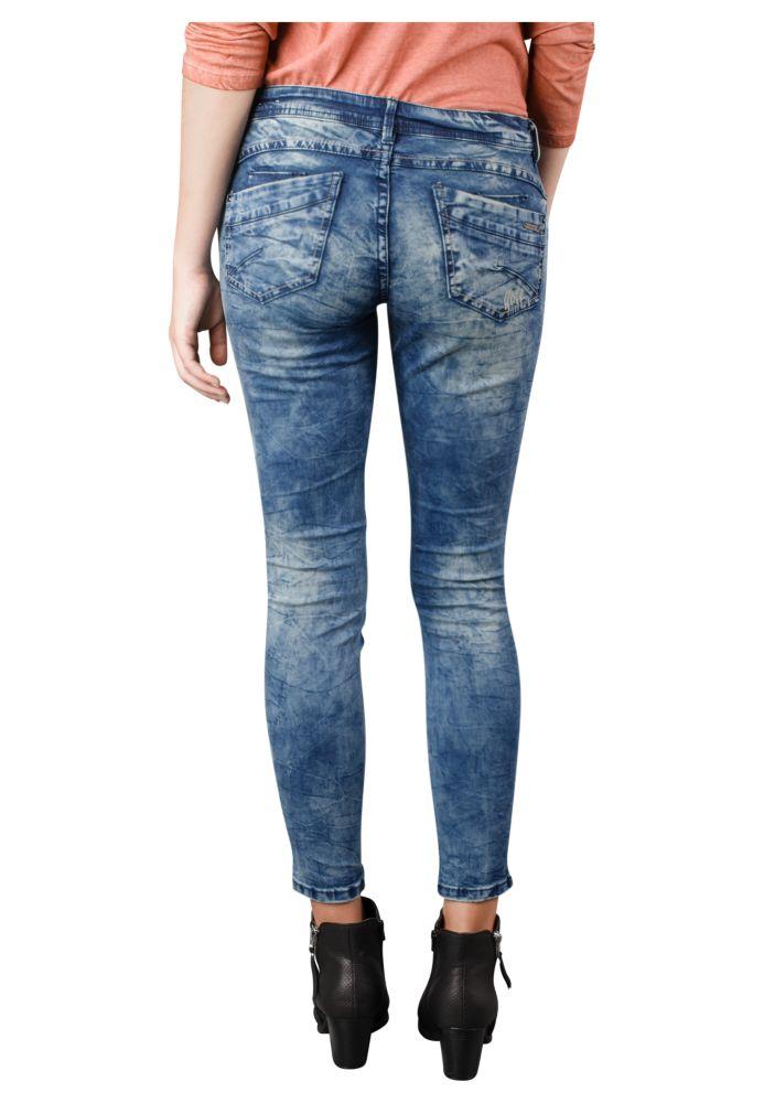 Vorschau: Used Damen Skinny Fit Jeans