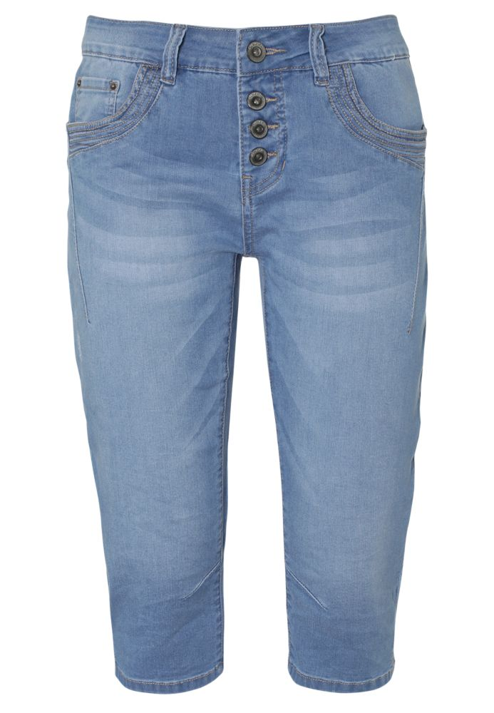 Jeans Capri in O-Shape